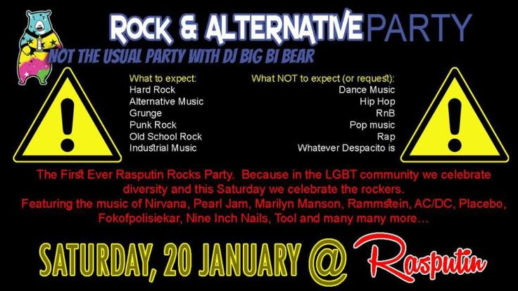 Rock and alt party