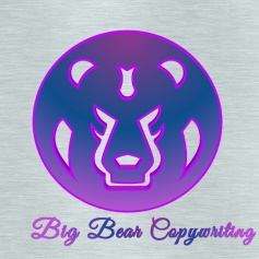 logo big Bear Copywriting